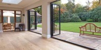 2 Sets of Bi-Folding Doors