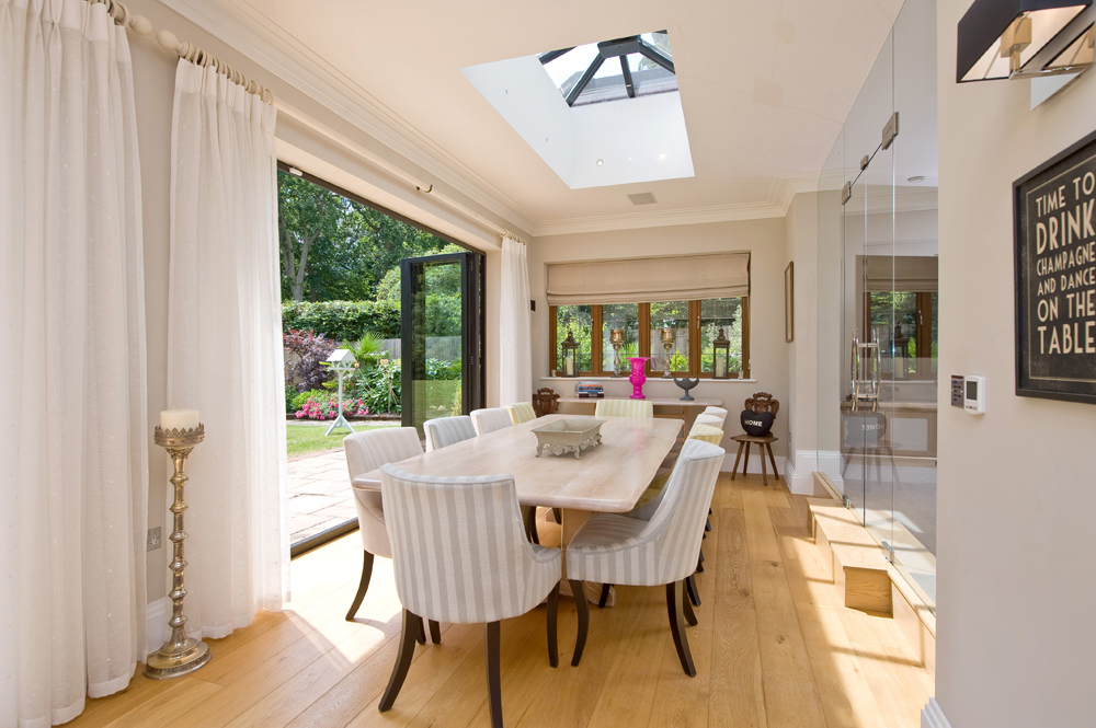 Bifold Doors For Your Home Or Office That Fold Back To Bring The