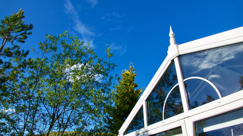 Should you use blue glass in your conservatory roof?