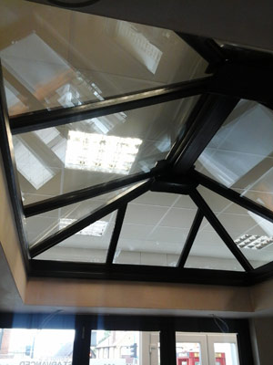 We can design & fit custom roof lanterns in Surrey