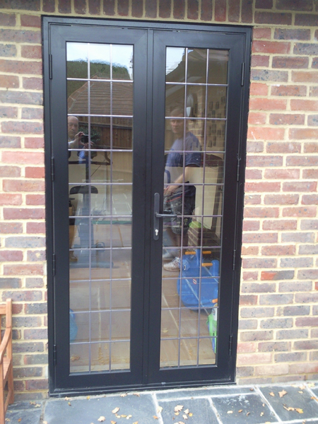 French doors fitted in Surbiton