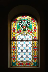 Can you add coloured - stained glass to your home?