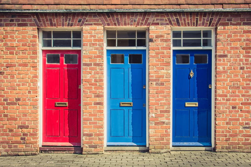What front door colour would suit your home?